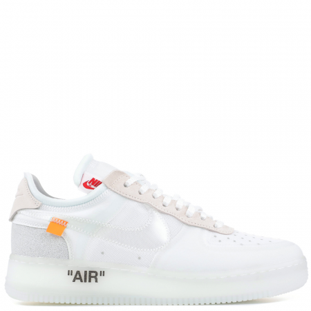 Nike Air Force 1 Low Virgil Abloh Off-White 'White' (AO4606 100)