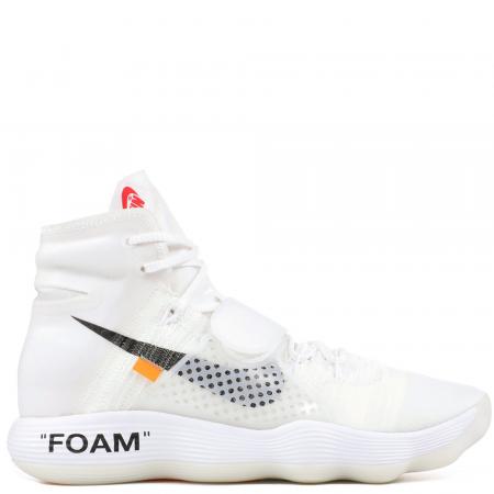 Nike React Hyperdunk 2017 Flyknit Virgil Abloh Off-White 'White' (AJ4578 100)