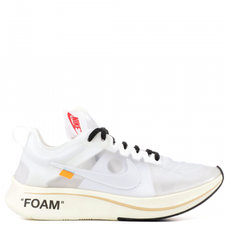 Nike Zoom Fly SP Virgil Abloh Off-White 'White' (AJ4588 100)