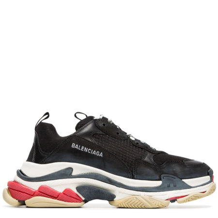 Balenciaga Triple S Trainer 'Black White Red' (483513W06E11000)