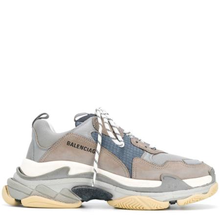 Balenciaga Triple S Trainer 'Grey' (536737 W09O1 1259)