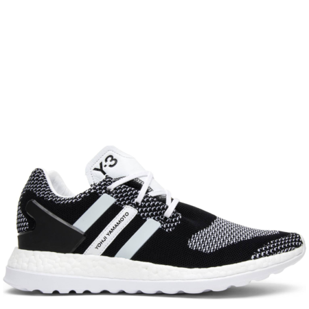 buy online f8204 4cf7e Adidas Y-3 Pure Boost ZG Knit  Core Black  ...