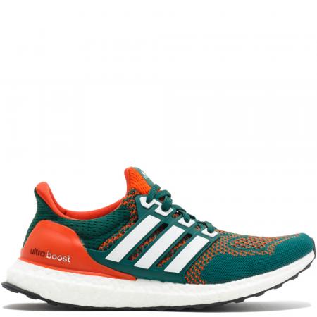 Adidas Ultraboost 1.0 'Miami Hurricanes' (AQ7847)