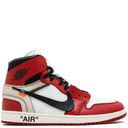 Air Jordan 1 Retro High OG Virgil Abloh Off-White 'Chicago' (AA3834 101)