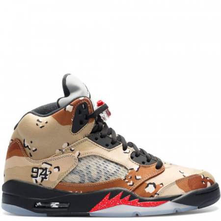 Air Jordan 5 Retro Supreme 'Desert Camo' (824371 201)