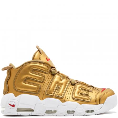 Nike Air More Uptempo Supreme 'Metallic Gold' (902290 700)
