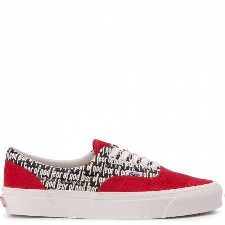 Vans Era 95 Dx Fear of God 'Red' (VN0A3MQ5PZQ)