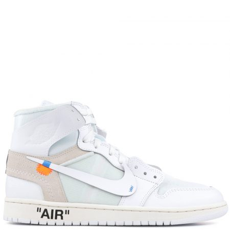 Air Jordan 1 Retro High OG NRG Virgil Abloh Off-White 'White' (Europe Exclusive) (AQ0818 100)