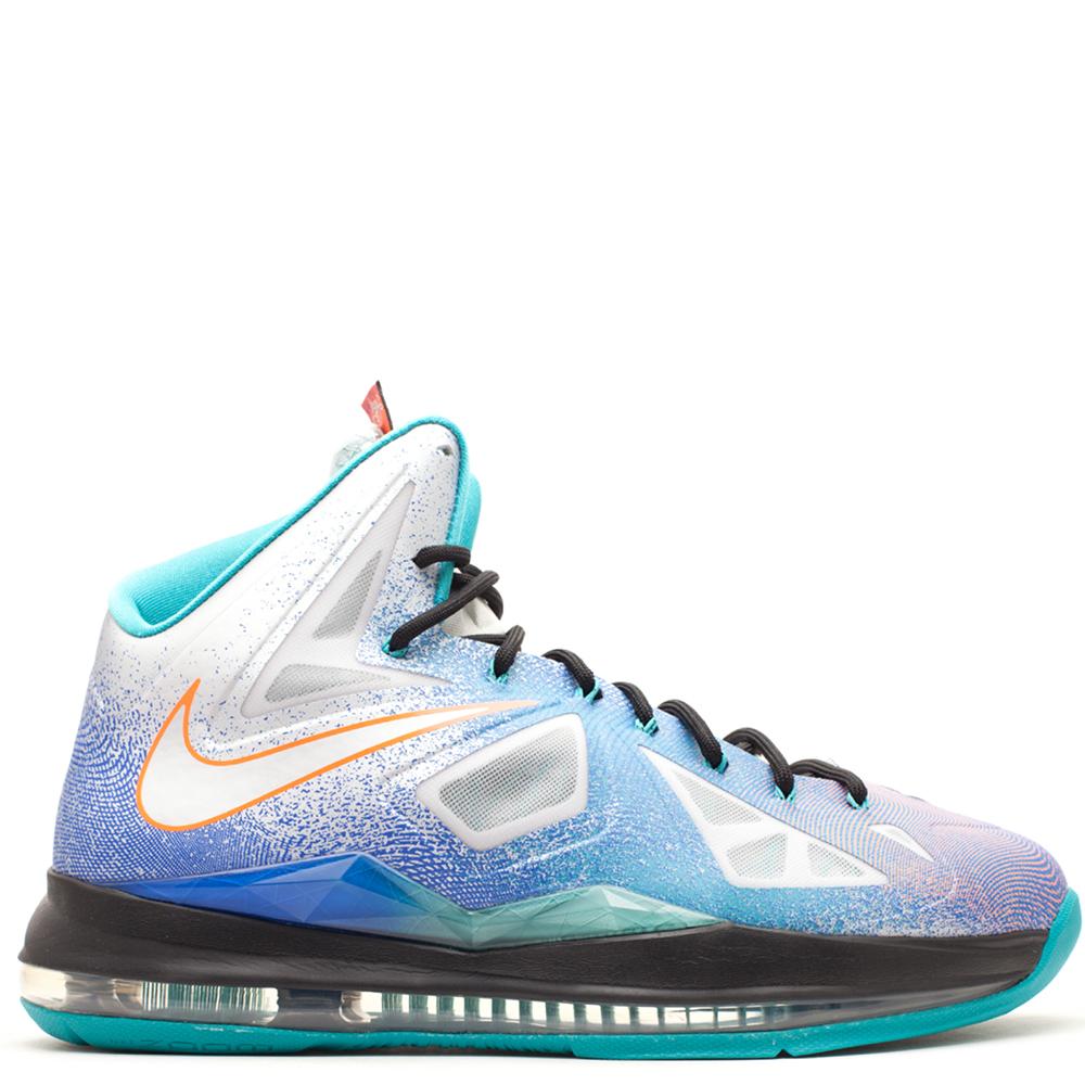 newest 7795f ee224 Nike LeBron 10  Pure Platinum    Pluggi