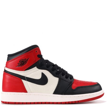 Air Jordan 1 Retro High 'Bred Toe' (GS) (575441 610)