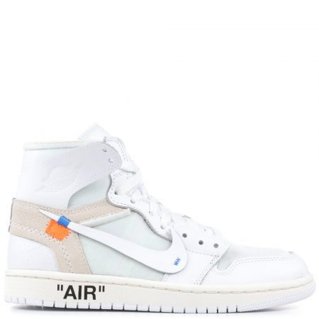 Air Jordan 1 Retro High OG NRG Virgil Abloh Off-White 'White' (GS) (Europe Exclusive) (AQ8296 100)