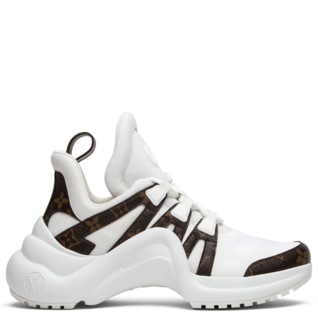Louis Vuitton Archlight Sneaker 'White Brown' (W) (1A43L1)