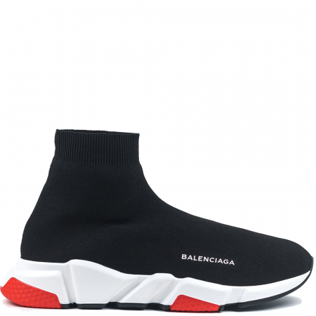 Balenciaga Speed Trainer 'Black Red' (506335 W05G0 1000)
