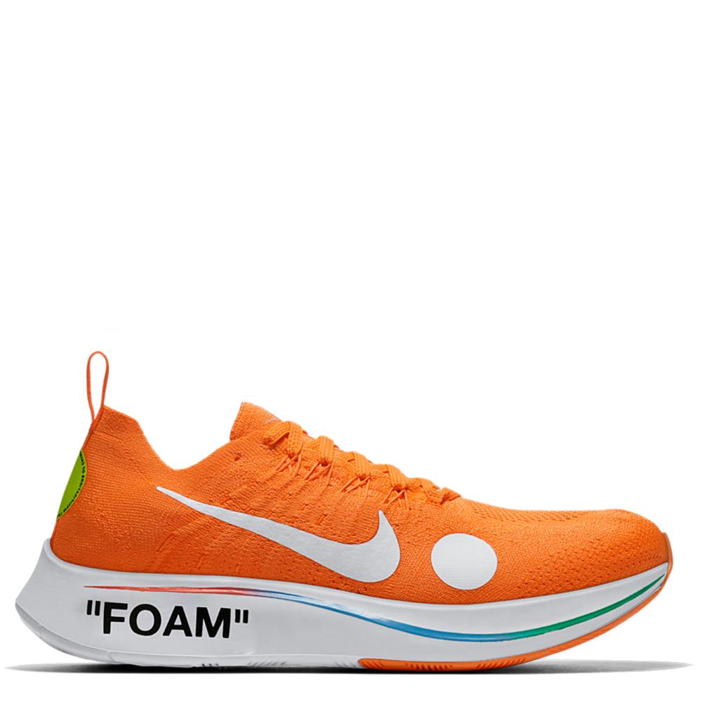 Nike Zoom Fly Mercurial Flyknit Off White 'Total Orange'