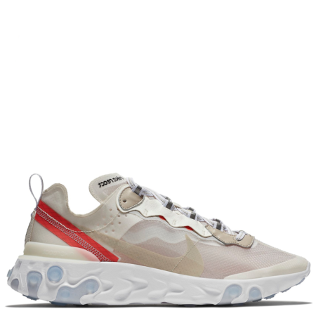 Nike React Element 87 'Light Bone' (AQ1090 100)