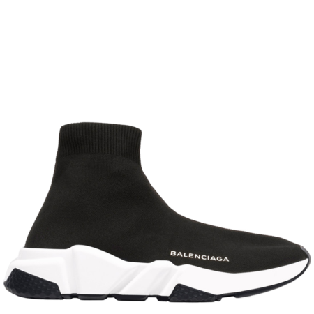 Balenciaga Speed Trainer Mid 'Black White' (2018) (506363 W05G0 1000)