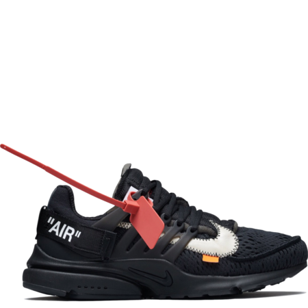 Nike Air Presto Off-White 'Triple Black' (AA3830 002)