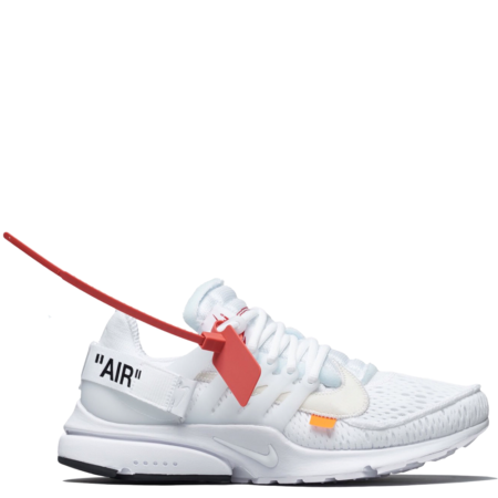 Nike Air Presto Off-White 'Triple White' (AA3830 100)