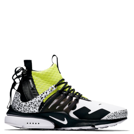 Nike Air Presto Mid Acronym 'Dynamic Yellow' (AH7832 100)