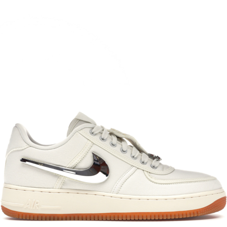 Nike Air Force 1 Travis Scott 'Sail' (AQ4211 101)