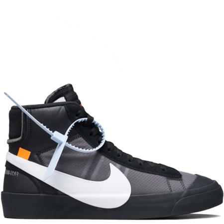 Nike Blazer Mid Off-White Virgil Abloh 'Grim Reapers' (AA3832 001)