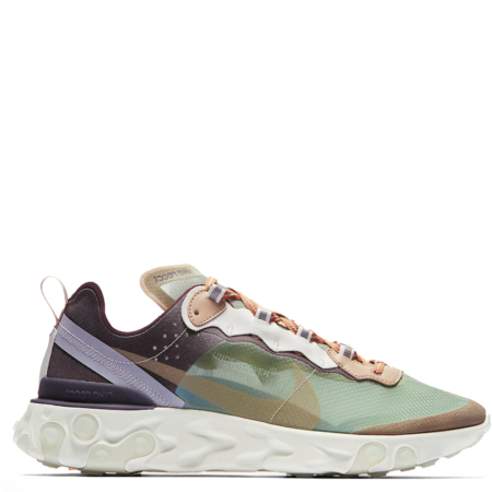 Nike React Element 87 Undercover 'Green Mist' (BQ2718 300)