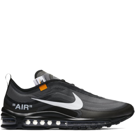 Nike Air Max 97 Off-White Virgil Abloh 'Black' (AJ4585 001)