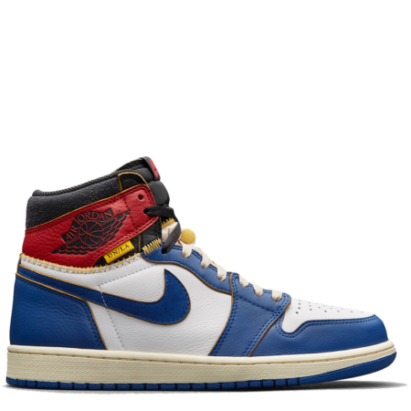 Air Jordan 1 Retro High OG NRG Union 'Storm Blue' (BV1300 146)