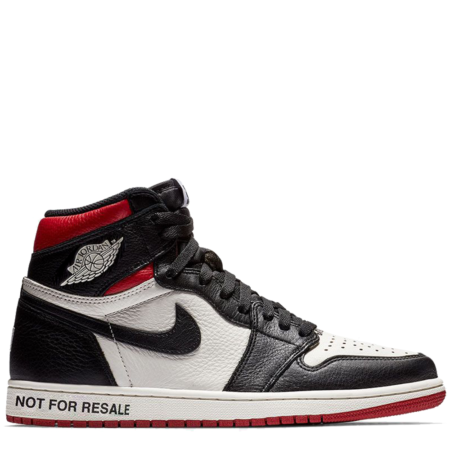 Air Jordan 1 Retro High OG NRG 'Not For Resale Red' (861428 106)