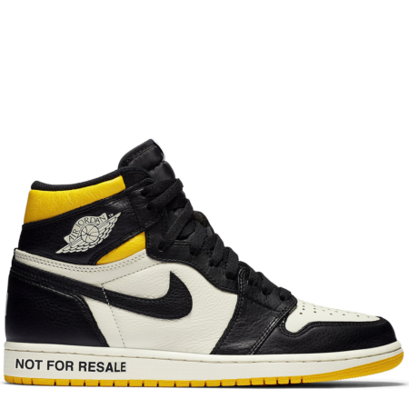 Air Jordan 1 Retro High OG NRG 'Not For Resale Yellow' (861428 107)
