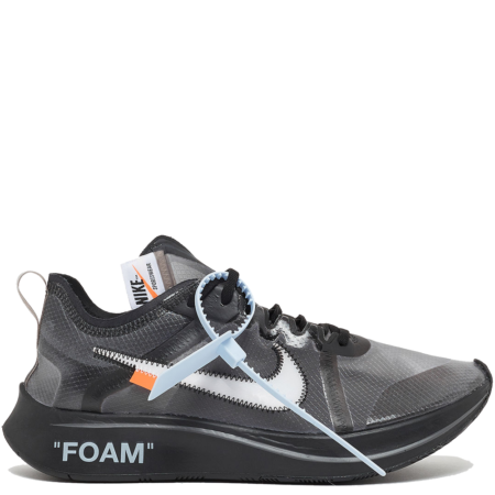 Nike Zoom Fly SP Off-White 'Black' (AJ4588 001)
