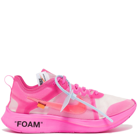 Nike Zoom Fly SP Off-White 'Tulip Pink' (AJ4588 600)