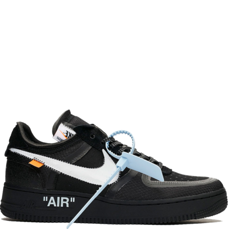 Nike Air Force 1 Low Virgil Abloh Off-White 'Black' (AO4606 001)