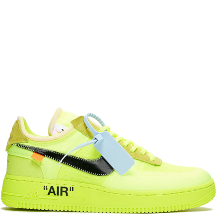 Nike Air Force 1 Low Virgil Abloh Off-White 'Volt' (AO4606 700)