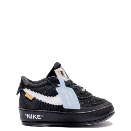 Nike Air Force 1 Low Off-White CB 'Black' (Baby) (BV0854 001)