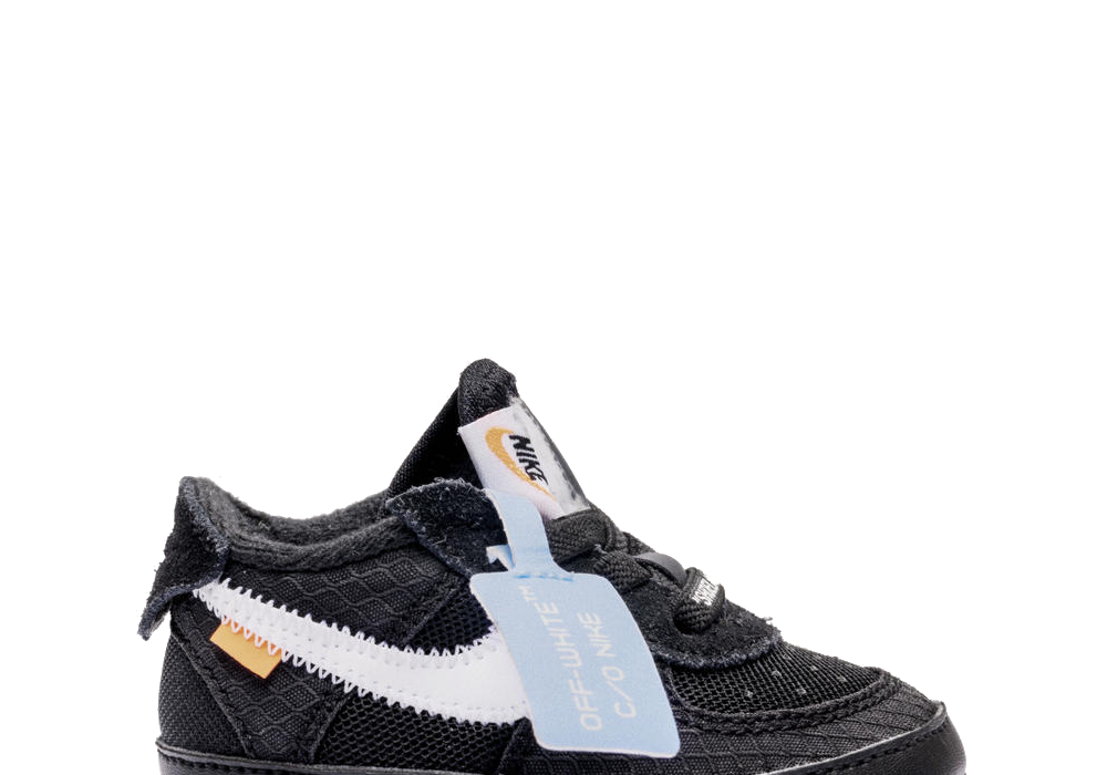 Nike Air Force 1 Low Off-White CB 'Black' (Baby)