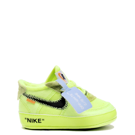 Nike Air Force 1 Low Off-White CB 'Volt' (Baby) (BV0854 700)