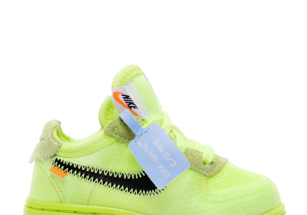 Nike Air Force 1 Low Off-White TD 'Volt' (Toddler)