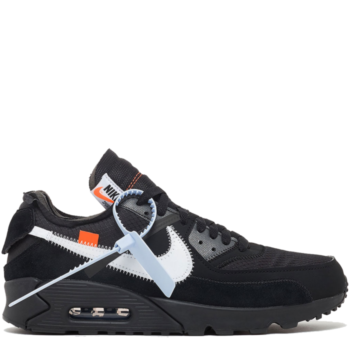 Nike Air Max 90 Virgil Abloh Off-White 'Black' (AA7293 001)