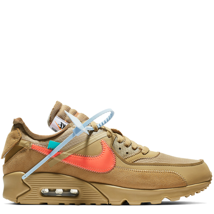 Nike Air Max 90 Virgil Abloh Off-White 'Desert Ore' (AA7293 200)
