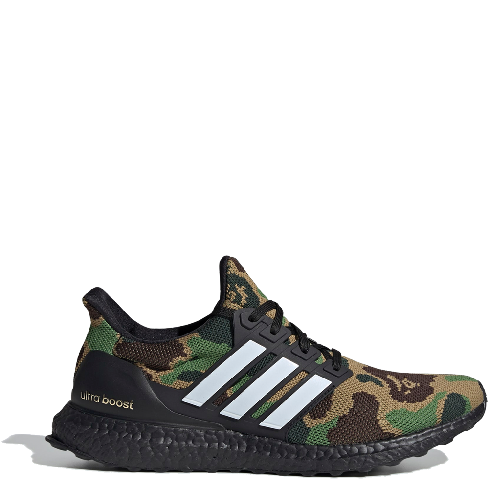 on sale bbf00 8c454 Adidas Ultraboost BAPE 'Green Camo'
