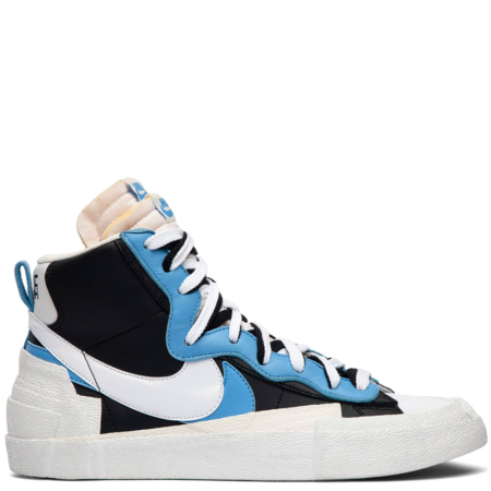 Nike Blazer Mid Sacai 'Black Blue' (BV0072 001)