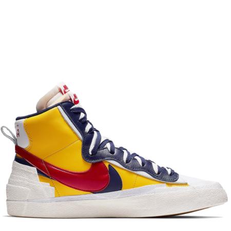 Nike Blazer Mid Sacai 'Maize Navy' (BV0072 700)