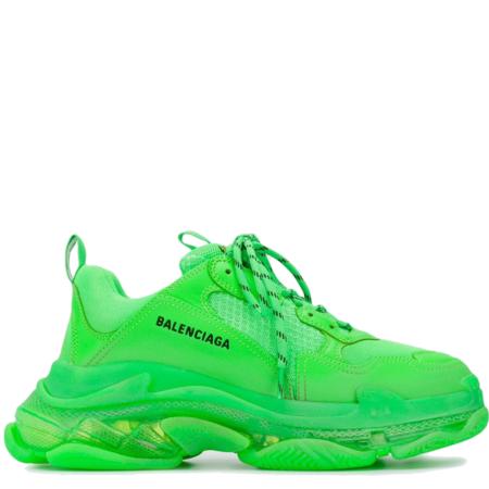 Balenciaga Triple S Trainer 'Neon Green' (541624 W09OL 3801)