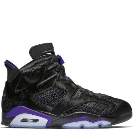 Air Jordan 6 Retro Social Status 'Pony Hair' (AR2257 005)