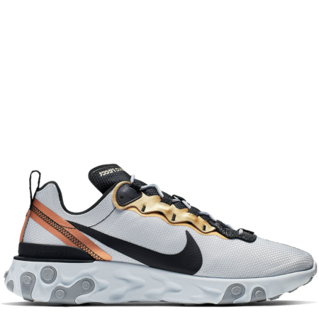 Nike React Element 55 'Gold Ranger' (CD7627 001)