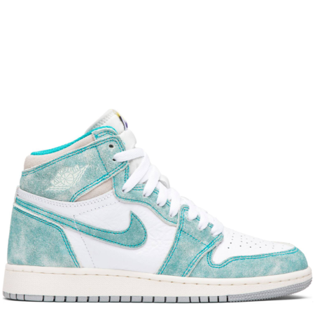 Air Jordan 1 Retro High OG 'Turbo Green' (GS) (575441 311)