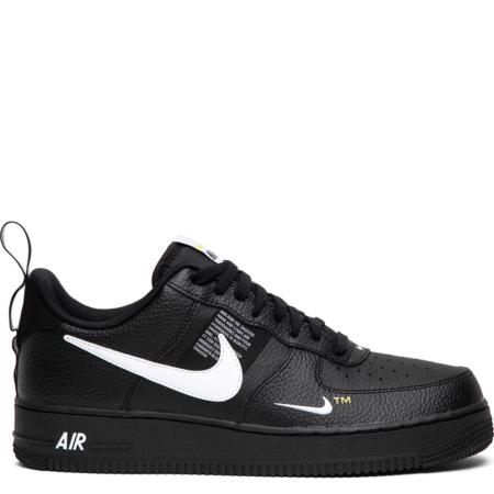 Nike Air Force 1 '07 LV8 Utility 'Black White' (AJ7747 001)