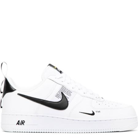 Nike Air Force 1 '07 LV8 Utility 'White Black' (AJ7747 100)