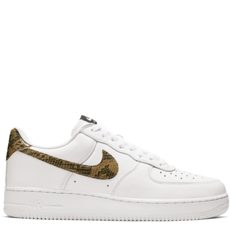 Nike Air Force 1 '07 Low Retro PRM QS 'Ivory Snake' (AO1635 100)